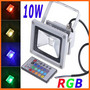 10W RGB LED FloodLight Wash Light 85-265V Waterproof Outdoor Flood Lamp