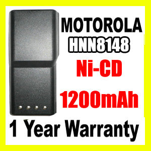 MOTOROLA HNN8148 Two Way Radio Battery,HNN8148 battery