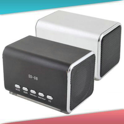Sound Box Mini Portable Speaker TF Card Music Player