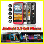 3.5 Inch Touchscreen Dual SIM Quadband Android 2.2 Cell Phone