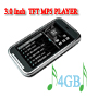 3.0 inch TFT 4GB MP5 with Mp3/Mp4 Function