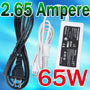 24V 2.65A 65W power supply for laptop
