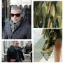 Celebrity OverSize Camouflage Prints Long Soft Scarf Army Green